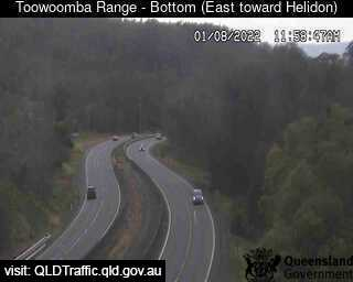 Webcam at Warrega Highway - Toowoomba Range Redwood