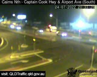 Webcam at Captain Cook Highway and Airport Avenue Cairns North