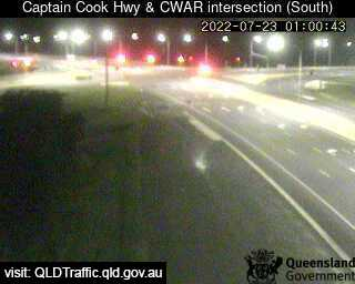 Webcam at Captain Cook Hwy at Caravonica Roundabout Caravonica
