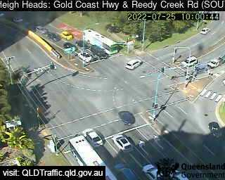 Gold Coast Highway & Reedy Creek Road