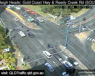 Gold Coast Highway & Reedy Creek Road, QLD
