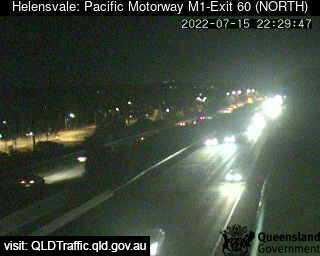 Webcam at Pacific Motorway M1 - Exit 60, Helensvale, QLD - Snarl