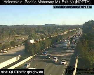 Pacific Motorway M1 Helensvale – Exit 60, QLD (North), QLD