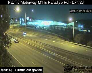 Pacific Motorway M1 & Paradise Road – Exit 23