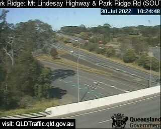 Webcam at Mount Lindesay Highway and Park Ridge Road Interchange Park Ridge