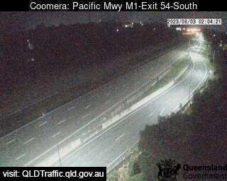 Pacific Motorway M1 Upper Coomera – Exit 54