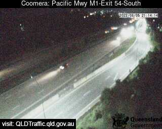 Pacific Motorway M1 Upper Coomera – Exit 54, QLD (South), QLD