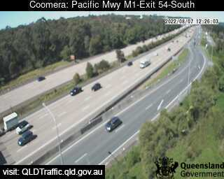 Pacific Motorway M1 Upper Coomera – Exit 54, QLD