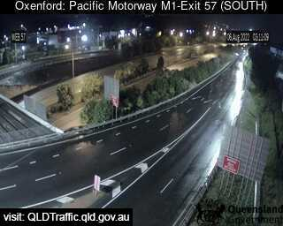 Webcam at Pacific Motorway M1 - Exit 57 Oxenford