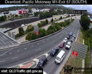 Pacific Motorway M1 Oxenford – Exit 57, QLD