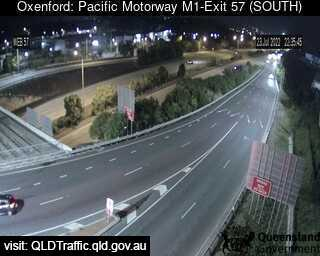 Pacific Motorway M1 Oxenford – Exit 57, QLD (South), QLD