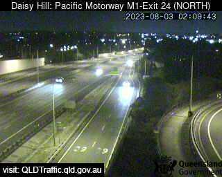 Pacific Motorway M1 Slacks Creek – Exit 24, QLD