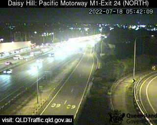 Pacific Motorway M1 Slacks Creek – Exit 24, QLD (North), QLD