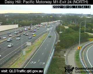 Pacific Motorway M1 Slacks Creek – Exit 24, QLD