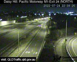 Pacific Motorway M1 Slacks Creek – Exit 24