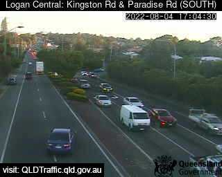 Webcam at Kingston Road and Paradise Road Logan Central