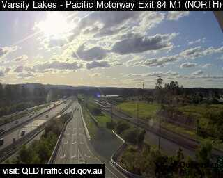 Pacific Motorway M1 Varsity Lakes – Exit 84, QLD (Northwest), QLD