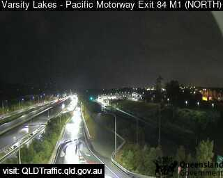 Pacific Motorway M1 Varsity Lakes – Exit 84, QLD (Northwest), QLD