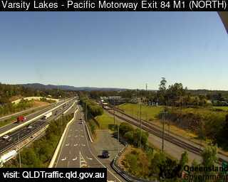 Pacific Motorway M1 Varsity Lakes – Exit 84, QLD