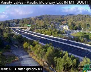 Pacific Motorway M1 Varsity Lakes – Exit 84, QLD