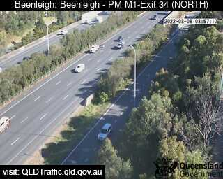 Webcam at Pacific Motorway M1 - Exit 34 Beenleigh