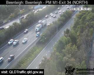 Pacific Motorway M1 – Exit 34, QLD (North), QLD