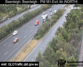 Pacific Motorway M1 – Exit 34, QLD