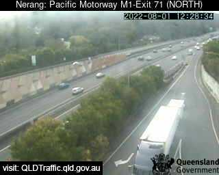 Pacific Motorway M1 Nerang – Exit 71, QLD (North), QLD