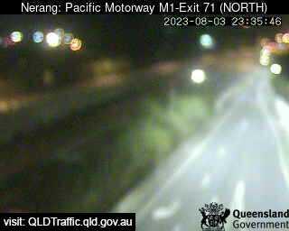 Pacific Motorway M1 Nerang – Exit 71, QLD (North), QLD