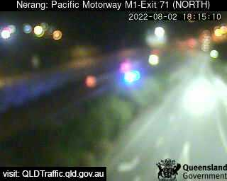 Pacific Motorway M1 Nerang – Exit 71, QLD