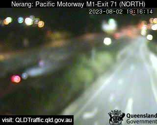 Pacific Motorway M1 Nerang – Exit 71