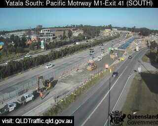 Webcam at Pacific Motorway M1 - Exit 41 Yatala