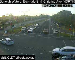 Webcam at Bermuda / Christine Avenue Burleigh Waters