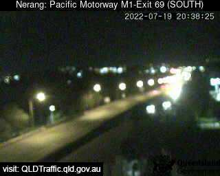 Webcam at Pacific Motorway M1 - Exit 69 Nerang