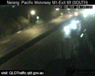 Pacific Motorway M1 Ashmore – Exit 69, QLD