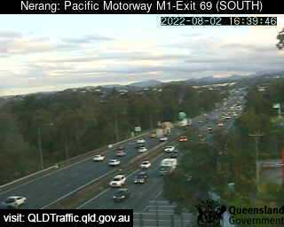 Pacific Motorway M1 Ashmore – Exit 69, QLD (South), QLD