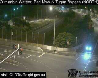 Webcam at Pacific Motorway M1 - Tugun Bypass Currumbin Waters