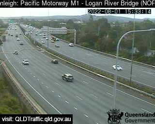 Pacific Motorway M1 - Logan River Bridge