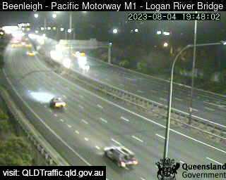 Pacific Motorway M1 – Logan River Bridge, QLD (North), QLD