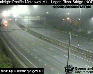 Pacific Motorway M1 – Logan River Bridge, QLD (North), QLD