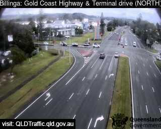 Webcam at Gold Coast Highway and Terminal Drive Bilinga