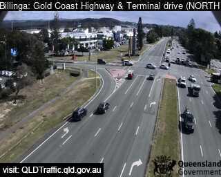 Gold Coast Highway & Terminal Drive, QLD (Northwest), QLD