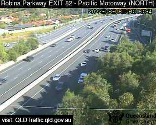 Robina Parkway & Pacific Motorway M1 – Exit 82, QLD (North), QLD
