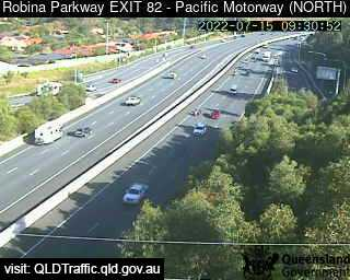 Robina Parkway & Pacific Motorway M1 – Exit 82, QLD