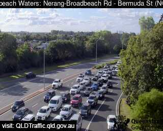 Webcam at Bermuda Street and Nerang Broadbeach Road Mermaid Waters