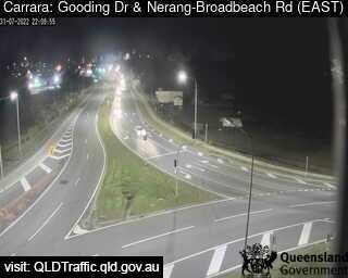 Webcam at Gooding Drive and Nerang Broadbeach Road Carrara