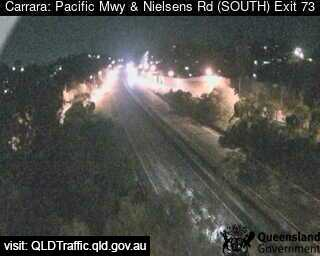 Webcam at Pacific Motorway and Nielsens Road Carrara