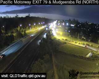 Webcam at Pacific Motorway and Mudgeeraba Road Mudgeeraba