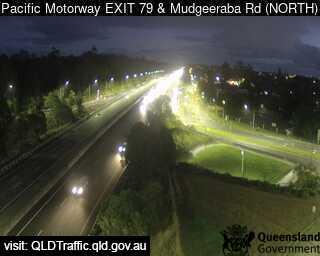 Pacific Motorway & Mudgeeraba Road – Exit 79, QLD (Northwest), QLD