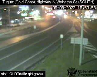 Gold Coast Highway and Wyberba Street